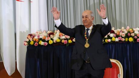 Abdelmadjid Tebboune, président de l'Algérie, lors de son investiture le 19 décembre 2019 à Alger  (image d'illustration).