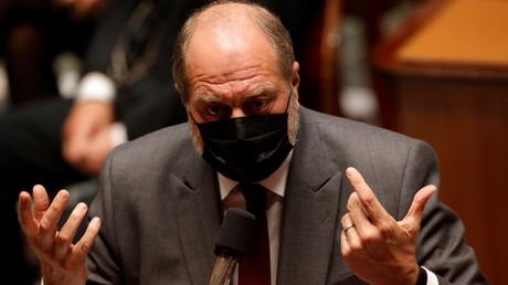 Eric Dupond-Moretti le 4 mai 2021 à l'Assemblée nationale, à Paris (image d'illustration).