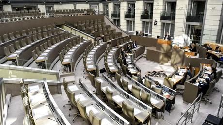 Le parlement flamand à Bruxelles (image d'illustration).