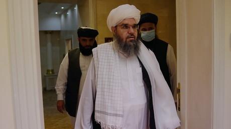 Chakhabouddine Delawar, un porte-parole des Taliban à Moscou le 9 juillet 2021 (image d'illustration)