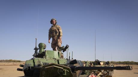 Soldat français de l'opération Barkhane dans le nord du Burkina Faso en novembre 2019 (image d'illustration).