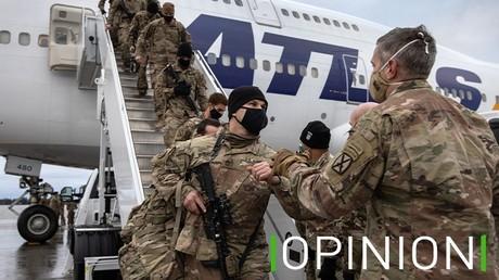 Des soldats américains rentrent aux Etats-Unis après avoir été déployés en Afghanistan, le 10 décembre 2020 à New York (image d'illustration).
