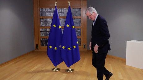Michel Barnier à Bruxelles le 21 février 2021 (image d'illustration).