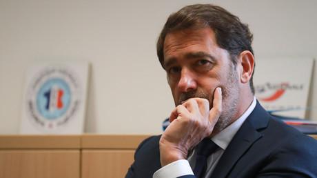 Christophe Castaner, alors ministre de l'Intérieur, à Evry, France, le 9 juin 2020 (image d'illustration).