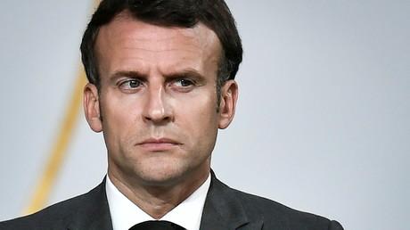 Le président Emmanuel Macron à l'Elysée, à Paris, le 9 juillet 2021.
