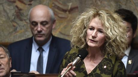 Martine Wonner à l'Assemblée nationale, le 14 novembre 2017 (image d'illustration).