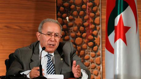 Le ministre algérien des Affaires étrangères, Ramtane Lamamra.
