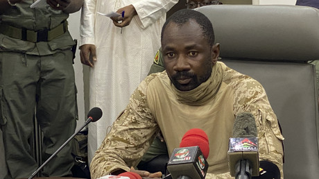 Assimi Goïta à Bamako, Mali, août 2020 (image d'illustration).