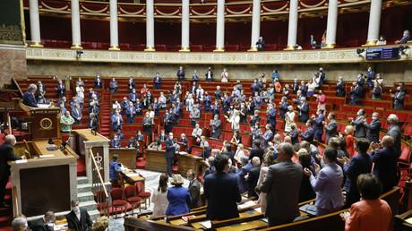 L'Assemblée nationale, le 8 juin 2021 (image d'illustration).
