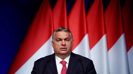 Le Premier ministre hongrois Viktor Orban Budapest le 9 juin 2021 (image d'illustration).