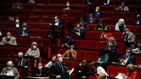 Le Premier ministre Jean Castex dans l'hémicycle de l'Assemblée nationale le 22 juin 2021 (image d'illustration).