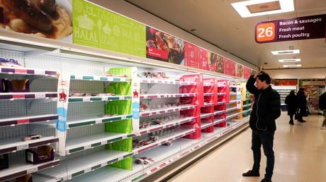 Au Royaume-Uni, le «pingdemic» menace l'approvisionnement des supermarchés