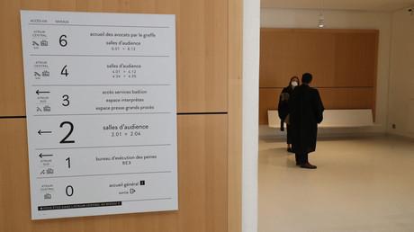 Intérieur du tribunal judiciaire de Paris (image d'illustration).