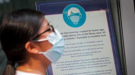 Vers un retour du masque pour les vaccinés aux Etats-Unis (image d'illustration).