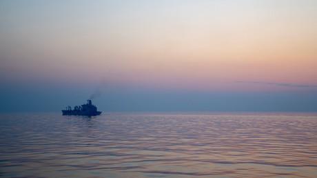 Un pétrolier américain au large d'Oman en 2019 (image d'illustration).