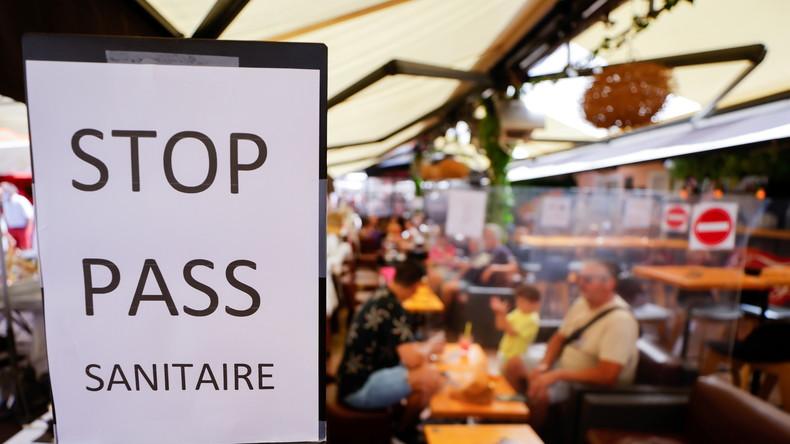 """Frankreich: Bürger sind gegen den Gesundheits-Pass und organisieren """"Wilde Terrassen"""""""