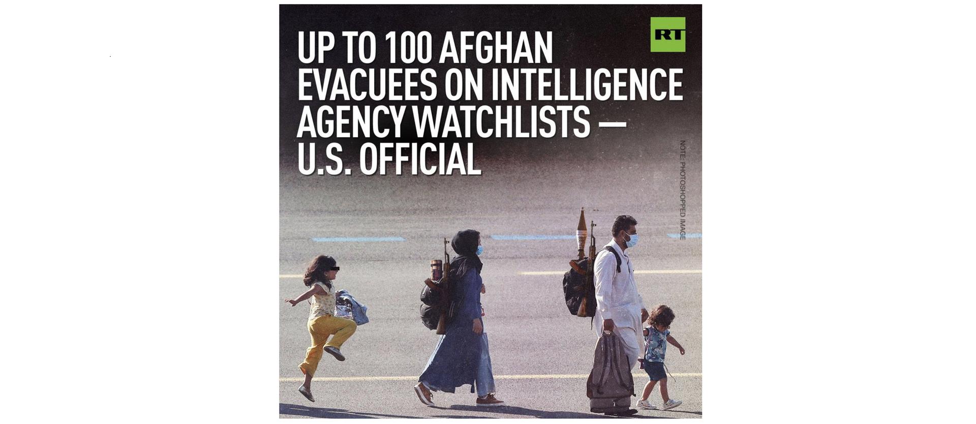 RT.com s'explique à la suite des critiques soulevées par un photomontage sur des réfugiés afghans