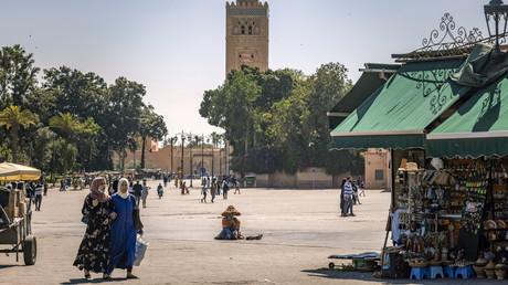 La place Jemaa el-Fna à Marrakech, Maroc, le 6 mai 2021 (illustration).