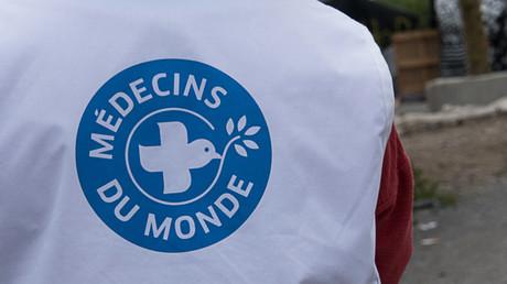 Une bénévole de Médecins du Monde, à Calais, le 7 juillet 2015 (image d'illustration)