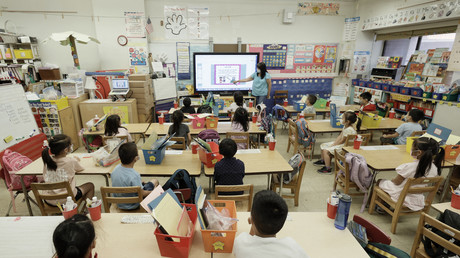 Ecole à New-York le 22 juillet 2021 (image d'illustration).