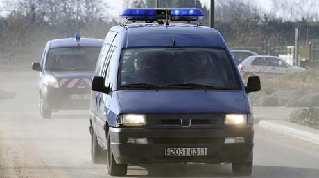 Un convoi de gendarmerie en route vers Nantes (image d'illustration)