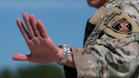 Le général d'armée Austin Scott Miller, ancien haut responsable des Etats-Unis commandant en Afghanistan, à Andrews Air Force Base, Etats-Unis 14 juillet 2021. (Image d'illustration)