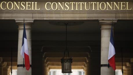 Entrée du Conseil constitutionnel (image d'illustration).