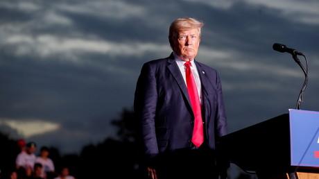 Donald Trump lors d'un meeting en Floride le 3 juillet 2021 (image d'illustration).