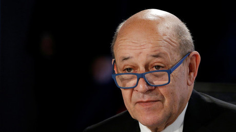 Le ministre français des Affaires étrangères Jean-Yves Le Drian, le 6 avril 2019 (image d'illustration).