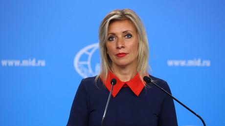 Maria Zakharova, porte-parole du ministère russe des Affaires étrangères (image d'illustration).