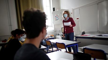 Au lycée Buffon à Paris, le 3 mai 2021 (illustration).