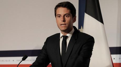 Le porte-parole du gouvernement Gabriel Attal en juillet 2020 (image d'illustration).