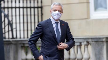 Le ministre français des Finances, Bruno Le Maire, assiste à la réunion des ministres des Finances du G7, à Lancaster House à Londres, (Grande-Bretagne), le 4 juin 2021.