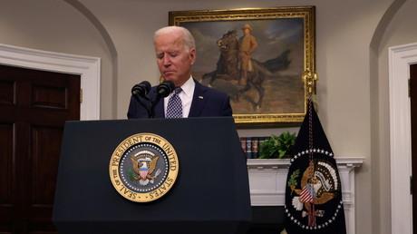 Joe Biden lors de son allocution sur la situation en Afghanistan, à la Maison-Blanche, le 24 août 2021.