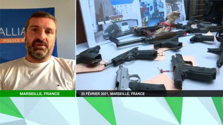 Rudy Manna, secrétaire départemental du syndicat de police Alliance, était l'invité de RT France ce 25 août.