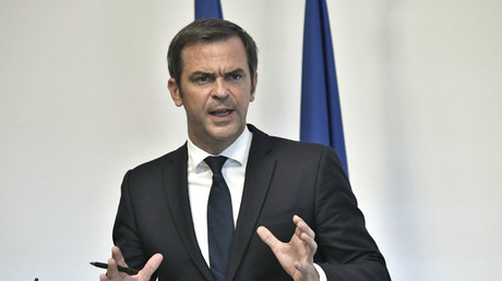 Olivier Véran, lors de la conférence de presse le 26 août à Paris.