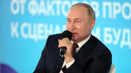 Vladimir Poutine, le 1er septembre 2021, à Vladivostok, en Russie.