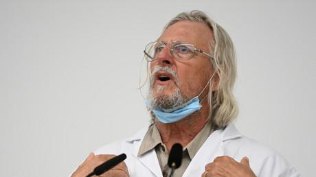 Le professeur Didier Raoult, directeur de l'IHU Méditerranée, le 26 août à Marseille (image d'illustration).