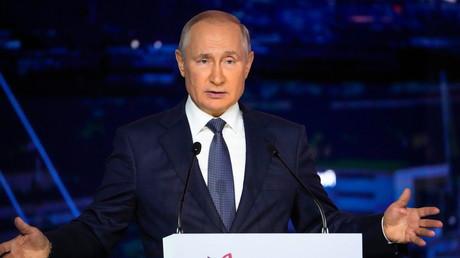 Vladimir Poutine a abordé la question de l'Afghanistan lors de la session plénière du Forum de Vladivostok ce 3 septembre 2021.