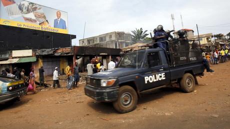Forces de police guinéennes le 10 octobre 2015 (image d'illustration)