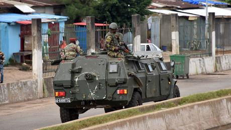 Des membres des forces armées guinéennes dans le quartier central de Kaloum à Conakry, le 5 septembre 2021 (image d'illustration).