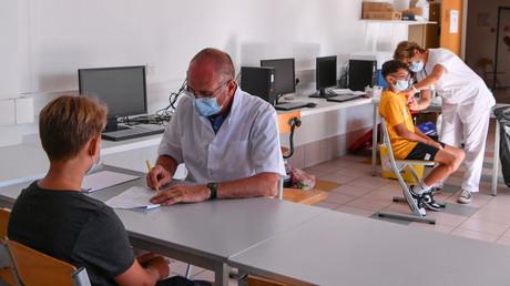 Scène de vaccination à Privas, le 6 septembre 2021 (image d'illustration).