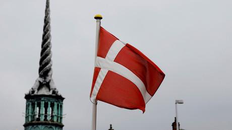 Le drapeau du Danemark flottant à Copenhague, le 28 janvier 2021 (image d'illustration).