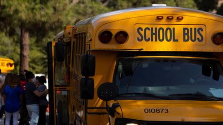 Bus scolaire à Los Angeles le 31 août 2021 (image d'illustration).
