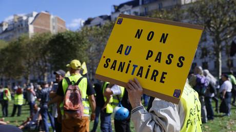 Neuvième samedi de mobilisation contre la généralisation du pass sanitaire (EN CONTINU)