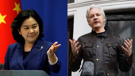 «Il a raison» : la Chine critique l'intervention américaine en Afghanistan en citant Assange (VIDEO)