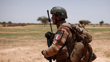 Un soldat français au Mali le 27 juillet 2017 (image d'illustration).