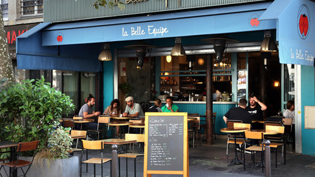 Le restaurant La Belle Equipe rénové, Paris, septembre 2021 (image d'illustration).