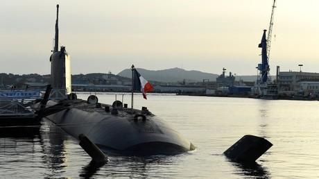 Un sous-marin nucléaire français Barracuda photographié en novembre 2020 à Toulon (image d'illustration).