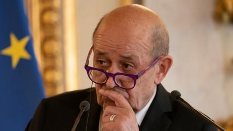 Jean-Yves Le Drian est le ministre des Affaires étrangères (image d'illustration).